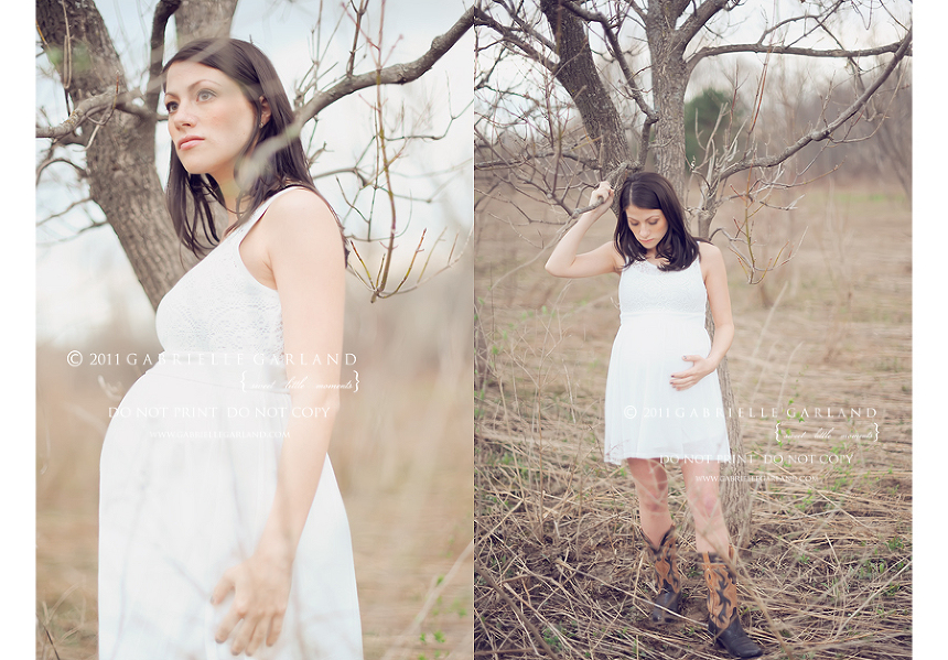 syracuse maternity session outdoors in spring