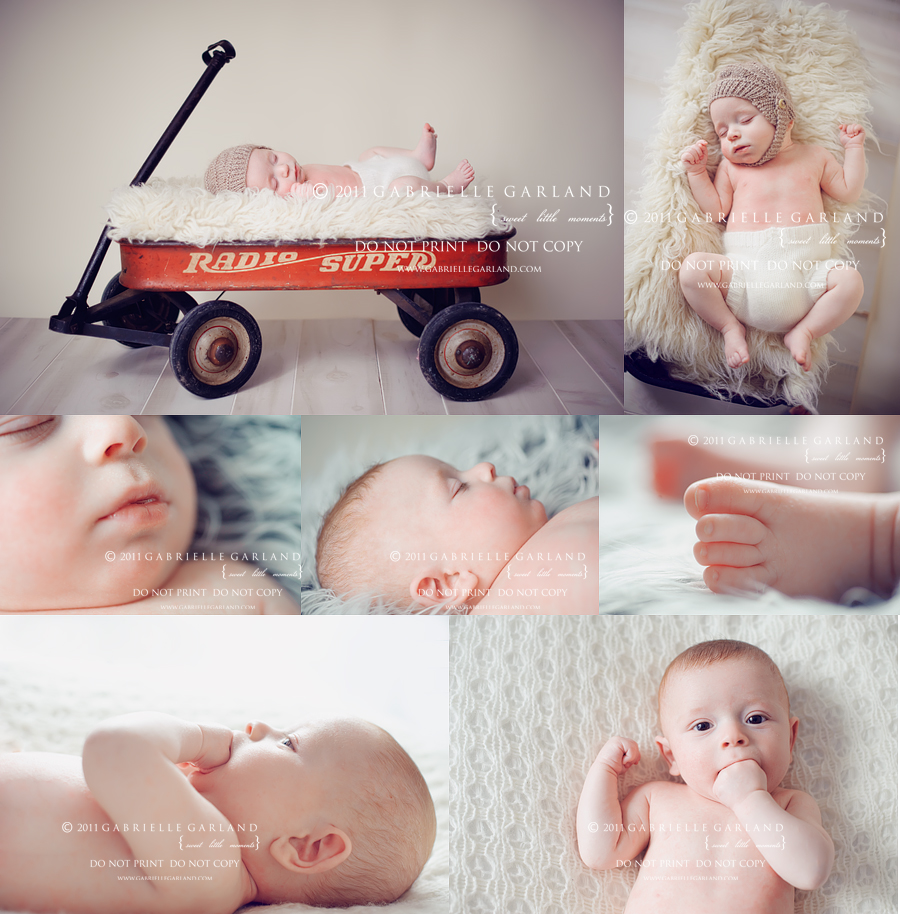 three month old baby syracuse baby photographer