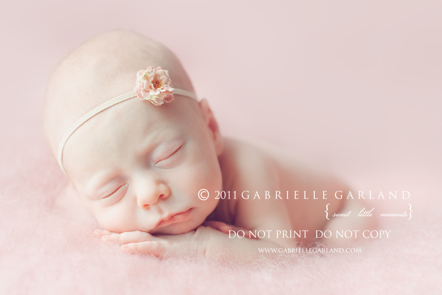 baby girl photography by gabrielle garland