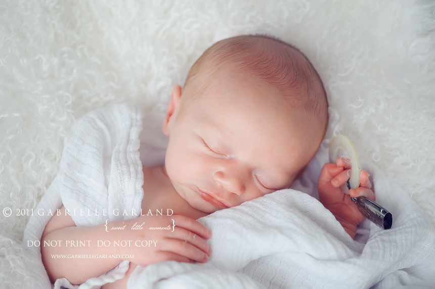 newborn vintage rattle syracuse baby photographer