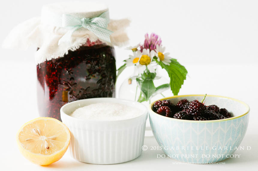 Black Raspberry Jam Ingredients
